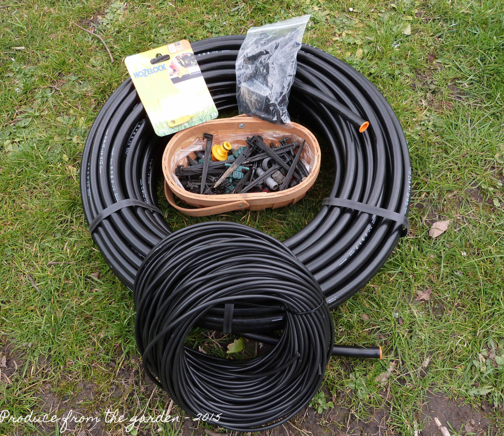 Watering system kit