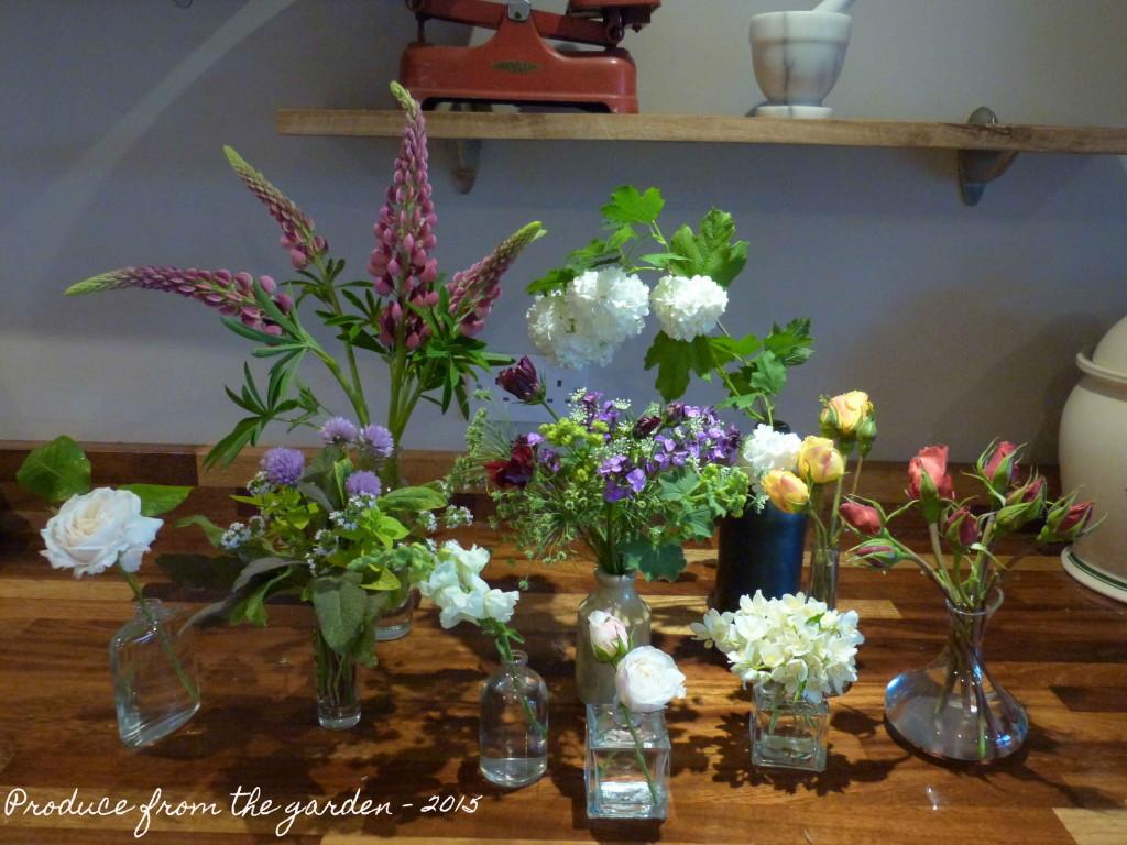 A few flowers from the garden