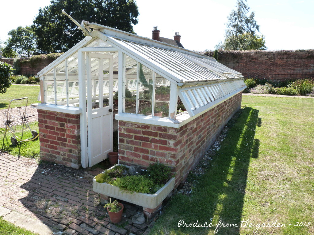 Green house at Godinton