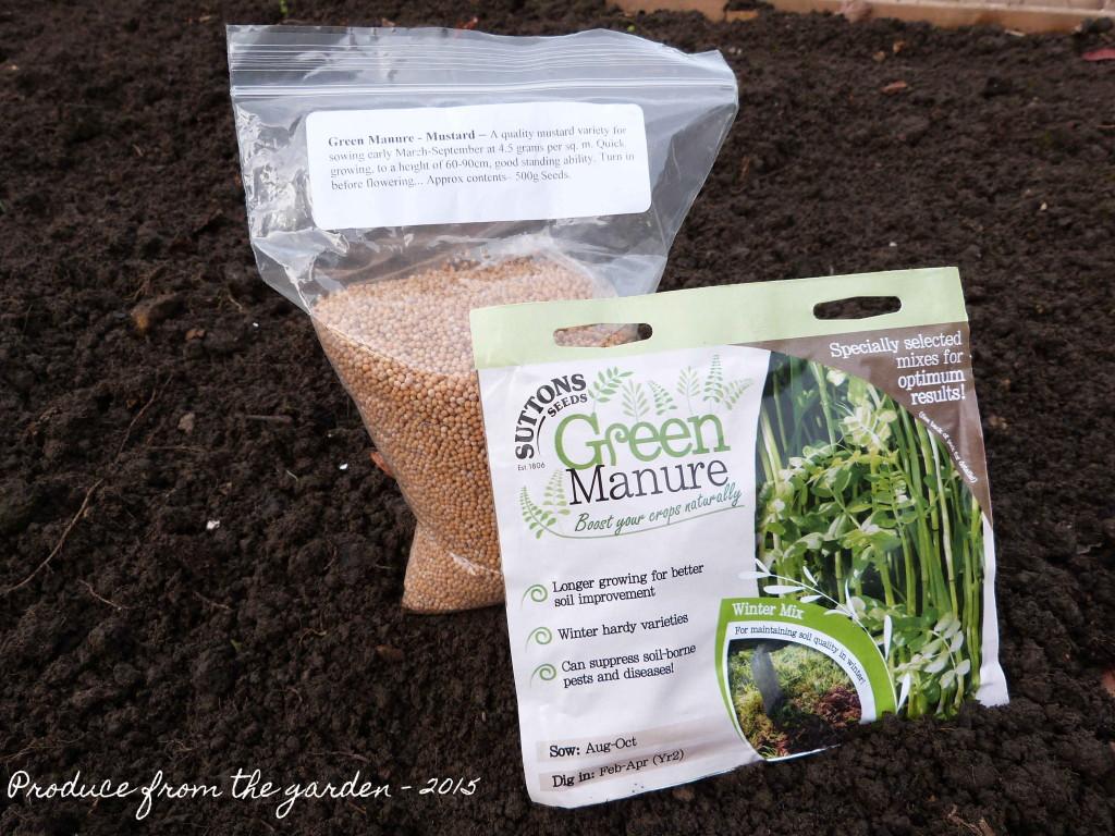 Green manure seed