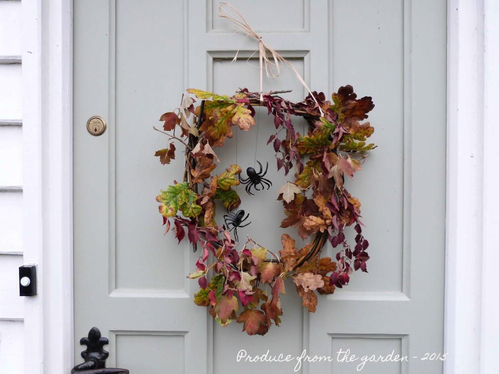 Halloween autumnal wreath