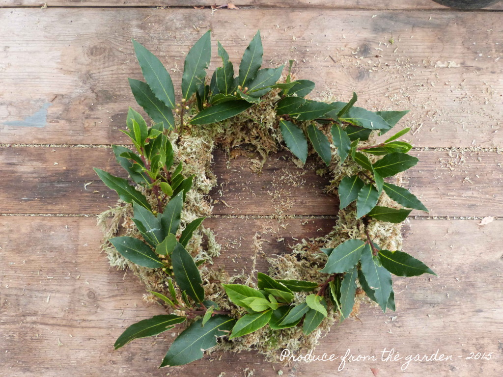 bay on the wreath