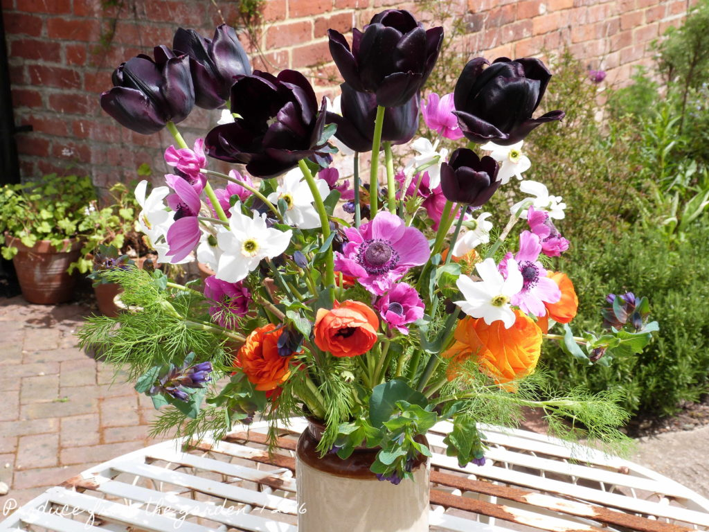 May flowers from the cutting garden