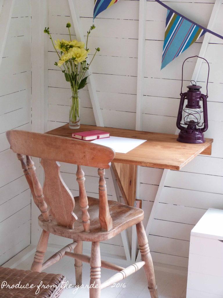 Summer House My desk