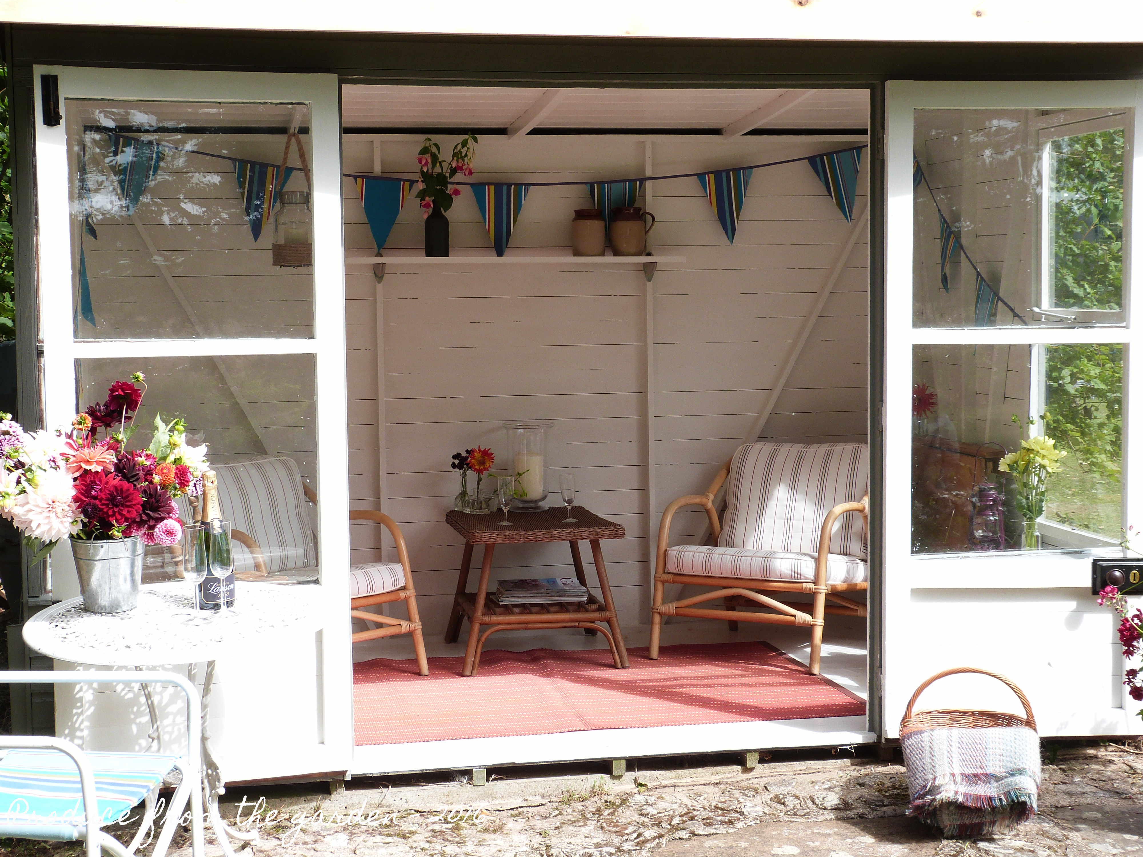 Summer House looking inside & A Summer House renovation \u2013 Produce From The Garden