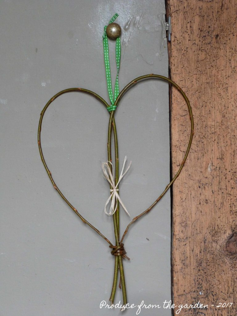 Willow hanging heart